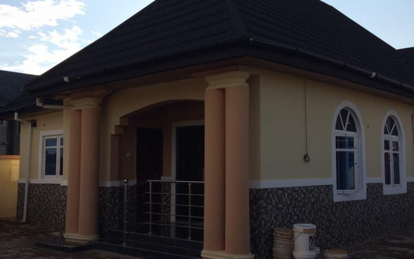 Newly Built 4 BEDROOM BUNGALOW